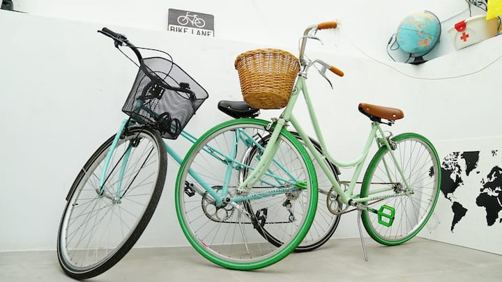THE HOUSE OF BIKES -Apartment + bikes in Cádiz
