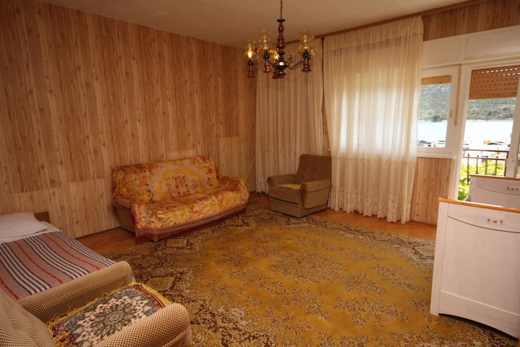 Living room, Surface: 24 m²