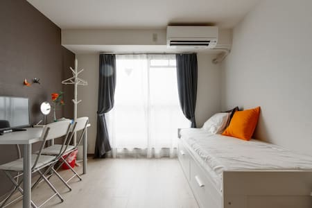 Top floor apartment ! River View! Free Wifi! - 大阪市
