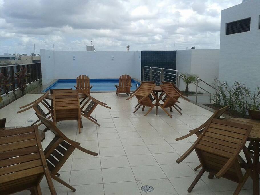 Área da piscina / Pool area