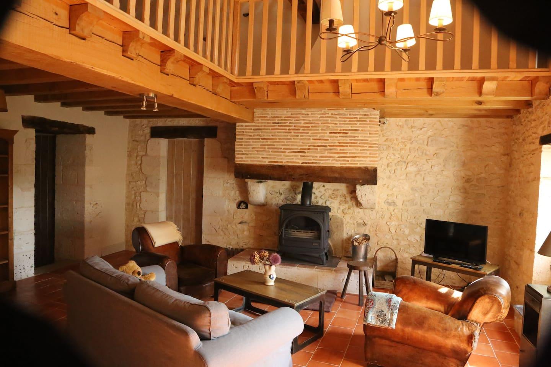 Luxury restored stone farmhouse