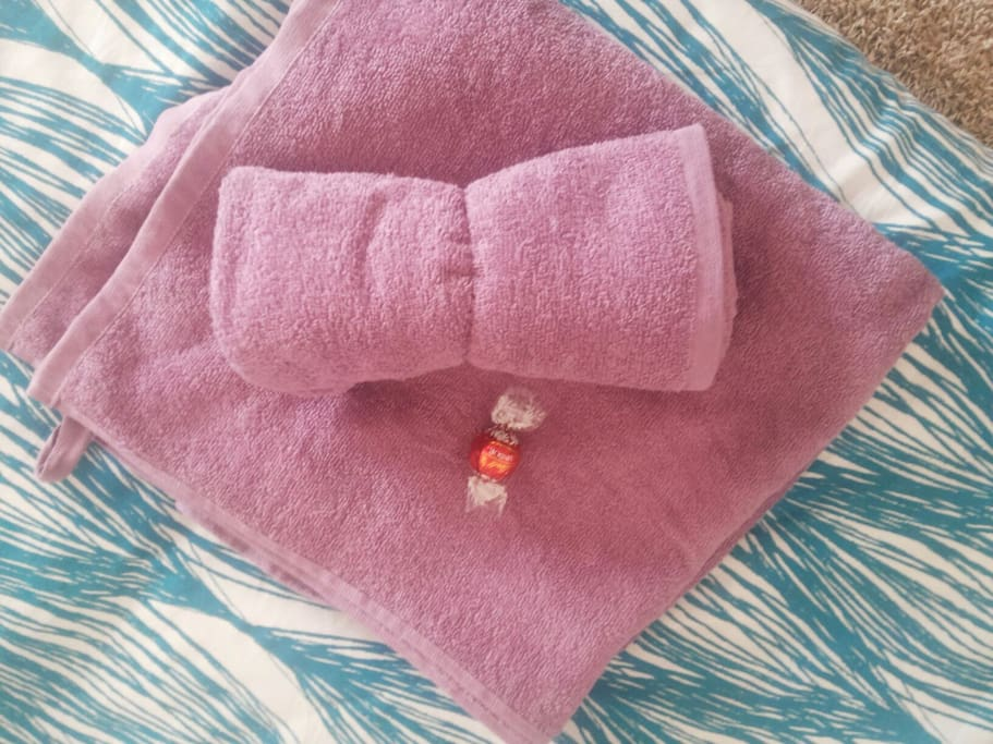 Fresh towels :)