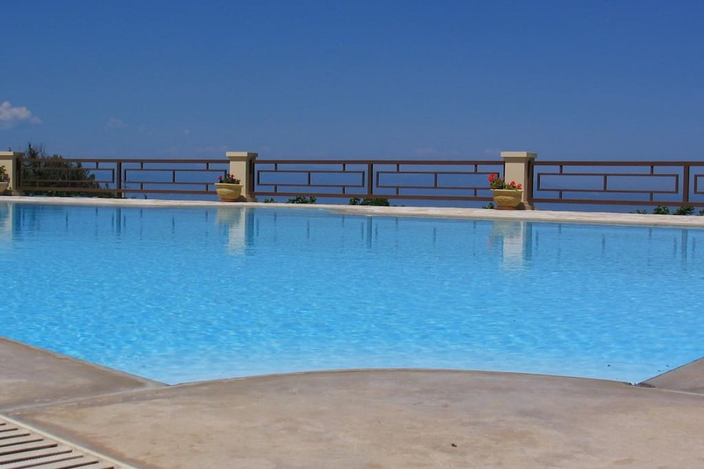 The large swimming pool