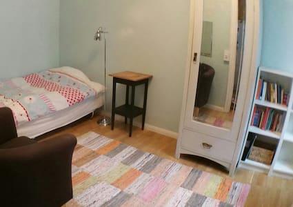 Cozy room near the University of Agriculture (SLU) - Uppsala