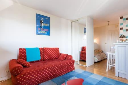 Studio centre-ville wifi 200m plage - 濱海布隆維爾(Blonville-sur-Mer) - 公寓