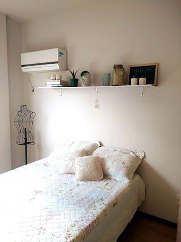 Suite no centro de Balneário Camboriú