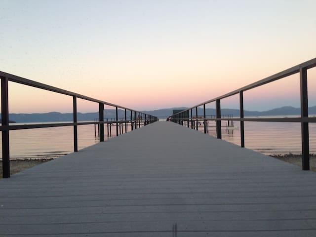 Elegant Lakefront Townhouse w/ View