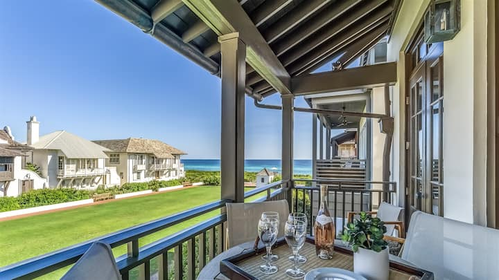 Pappas Cottage Rosemary Beach On Eastern Green with Amazing Unobstructed Gulf Views - Brand New Renovation in 2019
