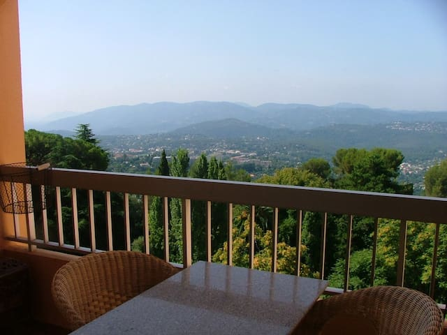 Balcony with View of Cotes d'Azur