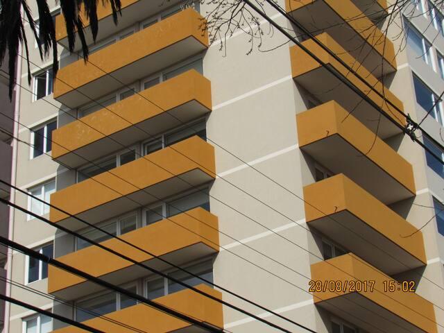 Vista de los balcones