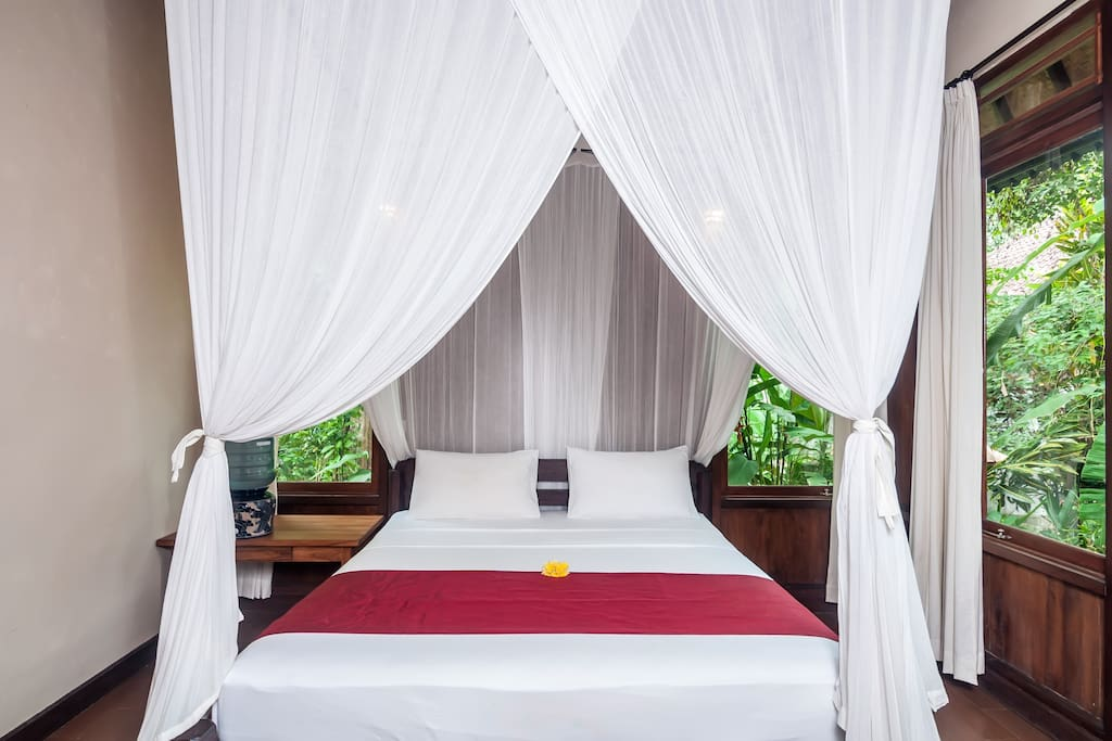 King sized bed for your comfortable sleep.