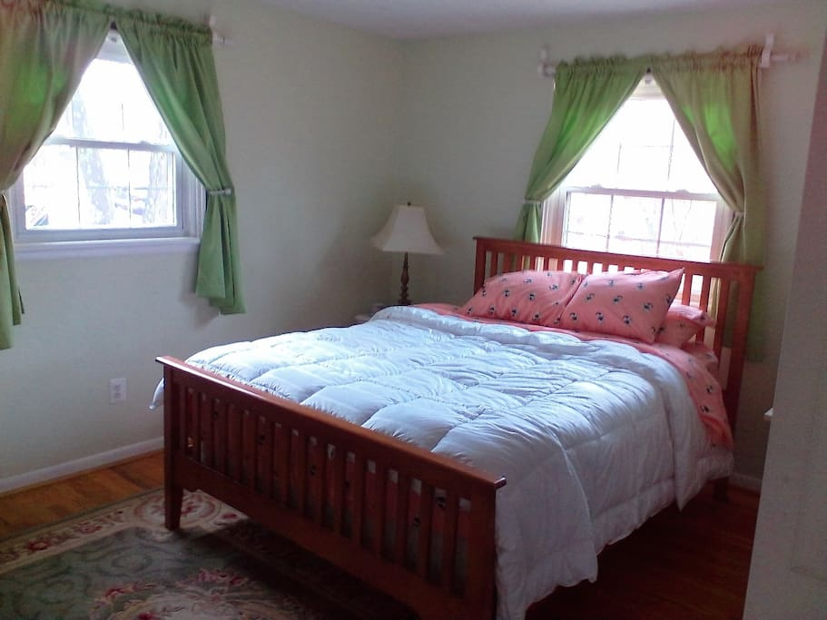 large room upstairs double bed