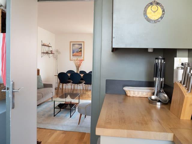 Lovely apartment Porte de Clichy