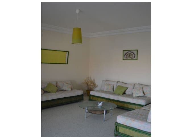 Appart agréable, lumineux près mer - Monastir - Appartement