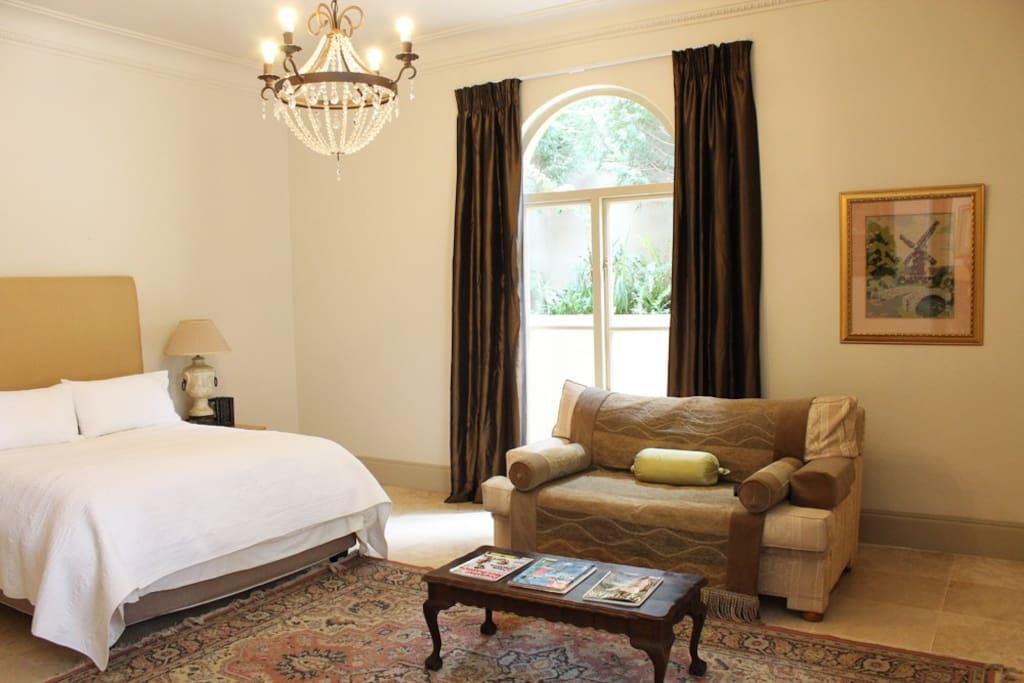Main Bedroom located on Ground Floor with En Suite Bathroom and dressing room