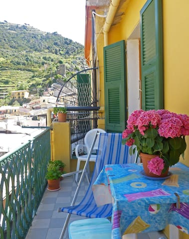 Manuela - apartament with nice view on Vernazza