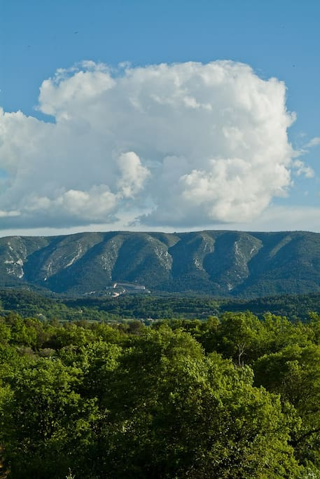 Clouds over the Luberon.
