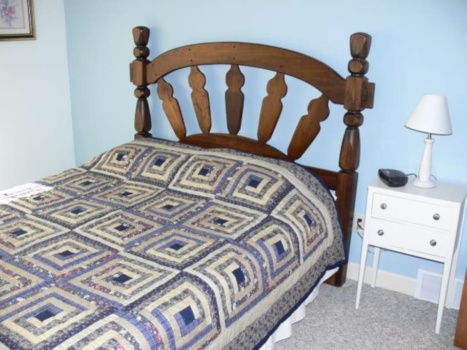 One of three bedrooms - 2 queen and one room with twin beds