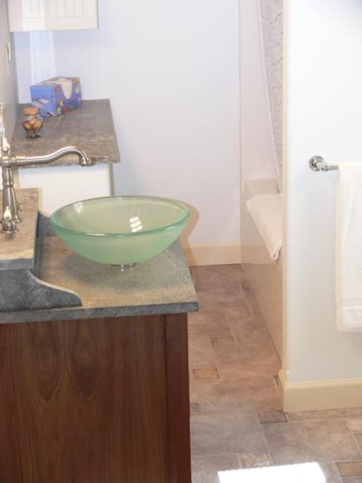 A bathroom for each bedroom.