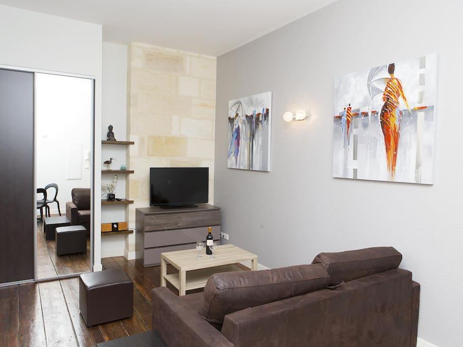 Appart 28m2 bordeaux plein centre appartements louer for Appart louer bordeaux