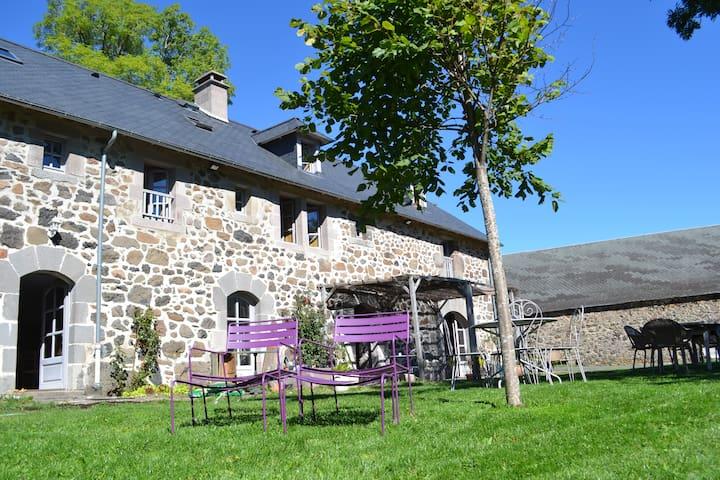 Maison avec jardin et vue montagnes - Lavigerie - Dům