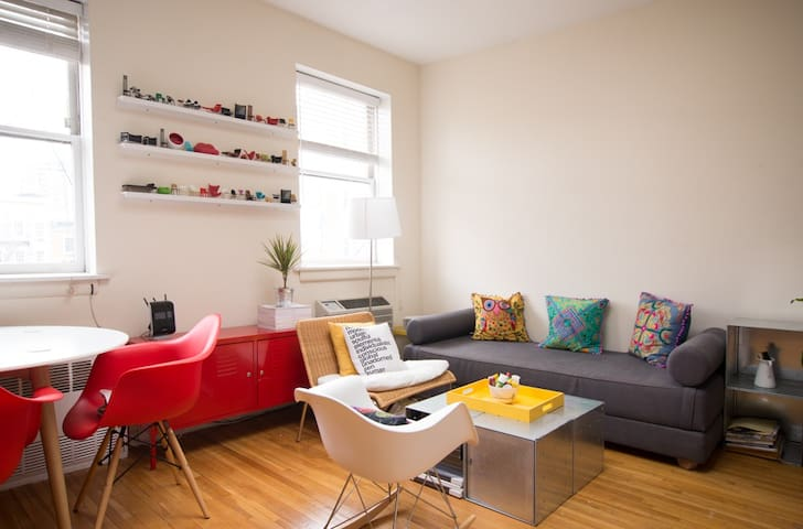 Sunny Cozy 1-Bedroom Apt in Chelsea - New York - Apartment