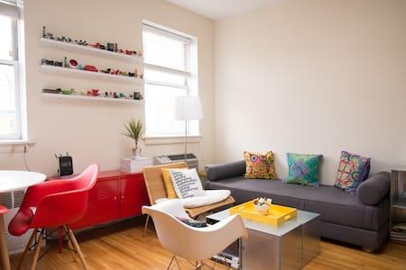Sunny Cozy 1-Bedroom Apt in Chelsea - 纽约 - 公寓