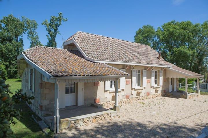 Le Chalet de Siran -Labarde/Margaux - Labarde - Huis