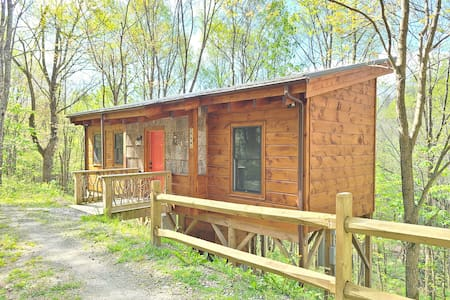 Acorn Acre Tiny Cabin - A Couples Cabin Retreat