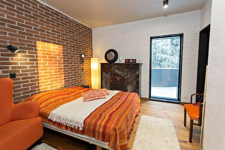 Cozy bedroom for guests