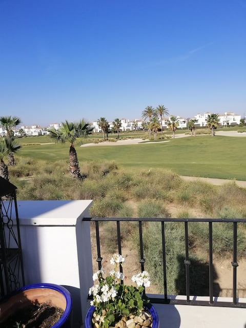 A homely townhouse on 18 hole golf resort