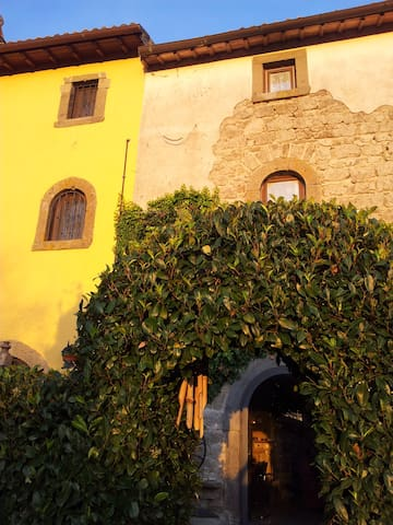 casale in pietra in borgo antico - Montefiascone - House
