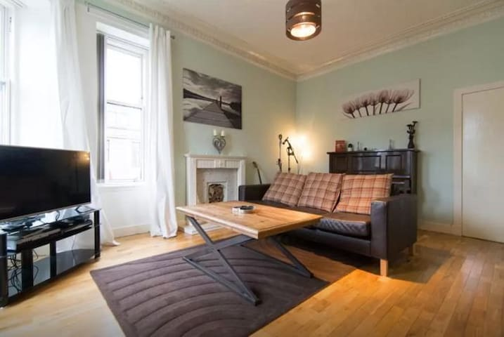 Bedroom in Lovely West End Flat - Glasgow - Wohnung