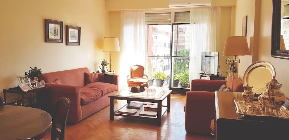 Habitación linda c/Baño Privado Suite en Recoleta.