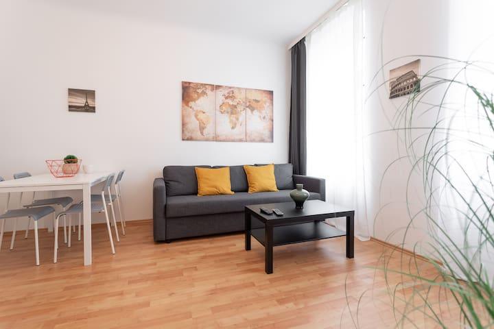 Beautiful Apartment next to Metro & City-Center