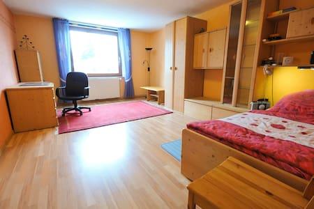 Großes gemütliches Zimmer von 24 qm - Rotenburg an der Wümme - Bed & Breakfast