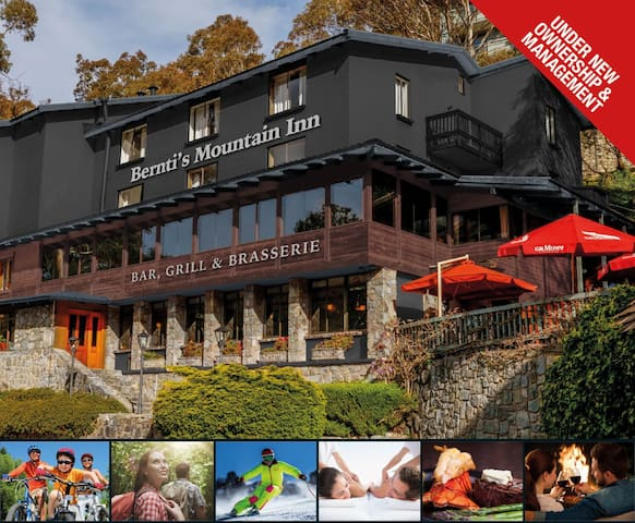 Berntis Mountain Inn - Kosciuszko National Park - Bed & Breakfast