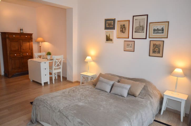 Cosy studio - great neighbourhood - Watermael-Boitsfort - Apartamento