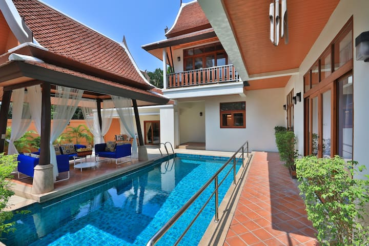 Arabella Villa Pattaya. Private Pool. 4bdr#73