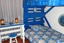Room Boat - bunkbed