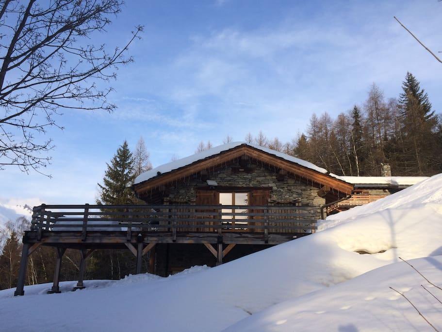 Vu depuis la piste de ski