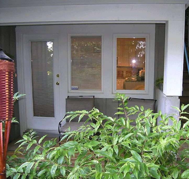 Entrance with Patio