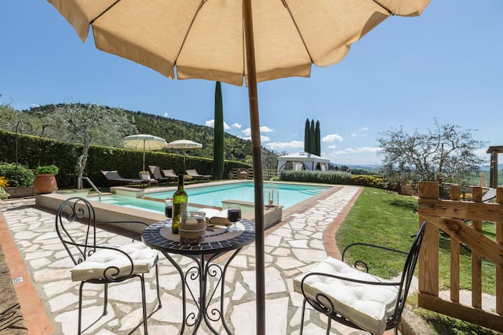Experience the best holiday in Tuscany,A/C,Wi-Fi