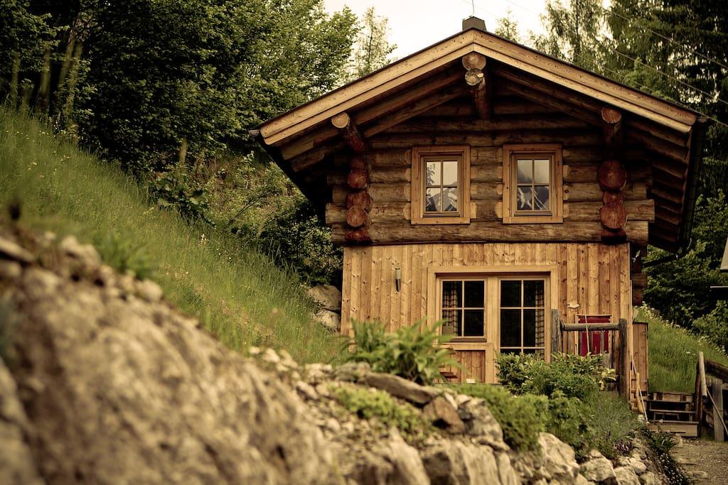 romantik in der eigenen blockh tte h user zur miete in maria alm salzburg sterreich. Black Bedroom Furniture Sets. Home Design Ideas