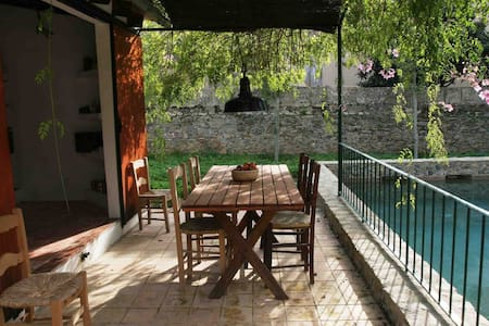 Cas Canonge, lovely garden house with pool
