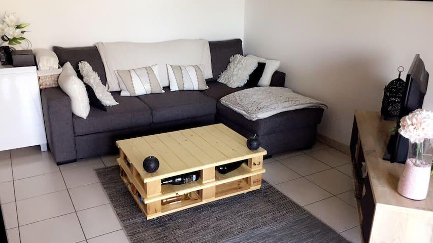 Appartement 2p pour 4p 40m² - Montaudran - Toulouse - Byt