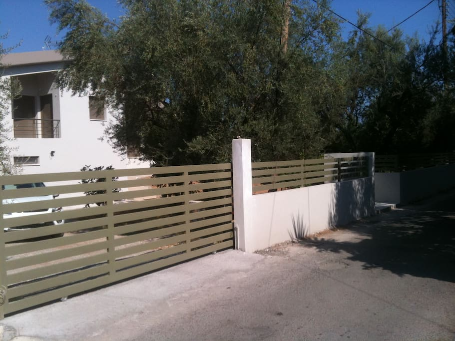 entrance to garage