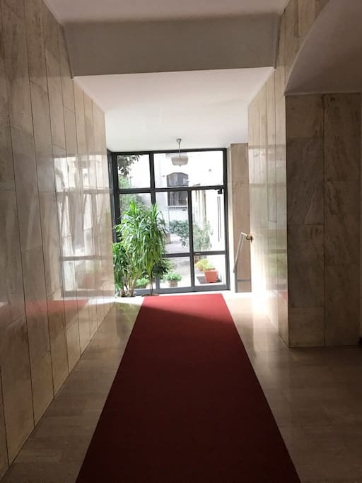 ingresso scalinata