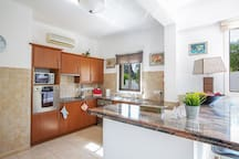 Modern kitchen equipped with all appliances