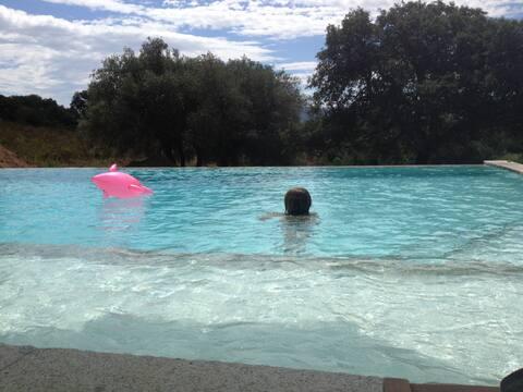Antické stazzo s bazénem